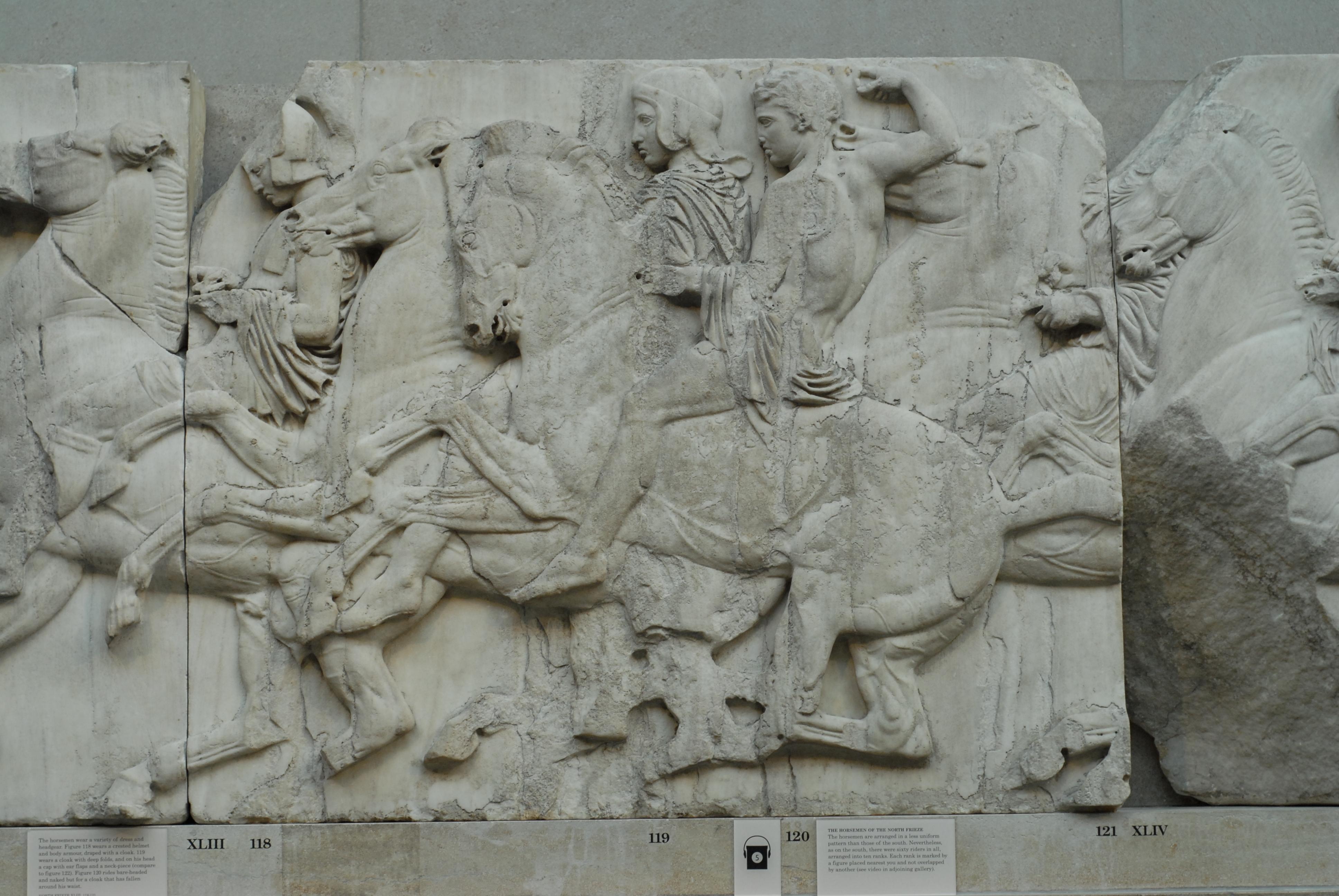 fileparthenon frieze north xliiijpg wikimedia commons