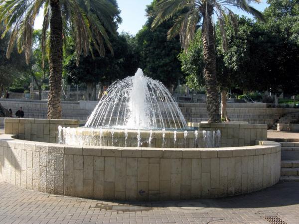מזרקה בחיפה