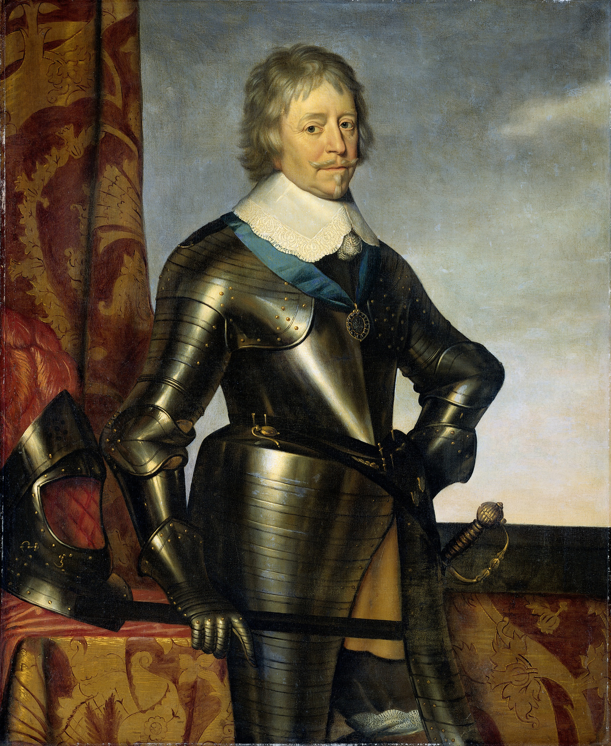 Bestandportret Van Frederik Hendrik 1584 1647 Prins Van