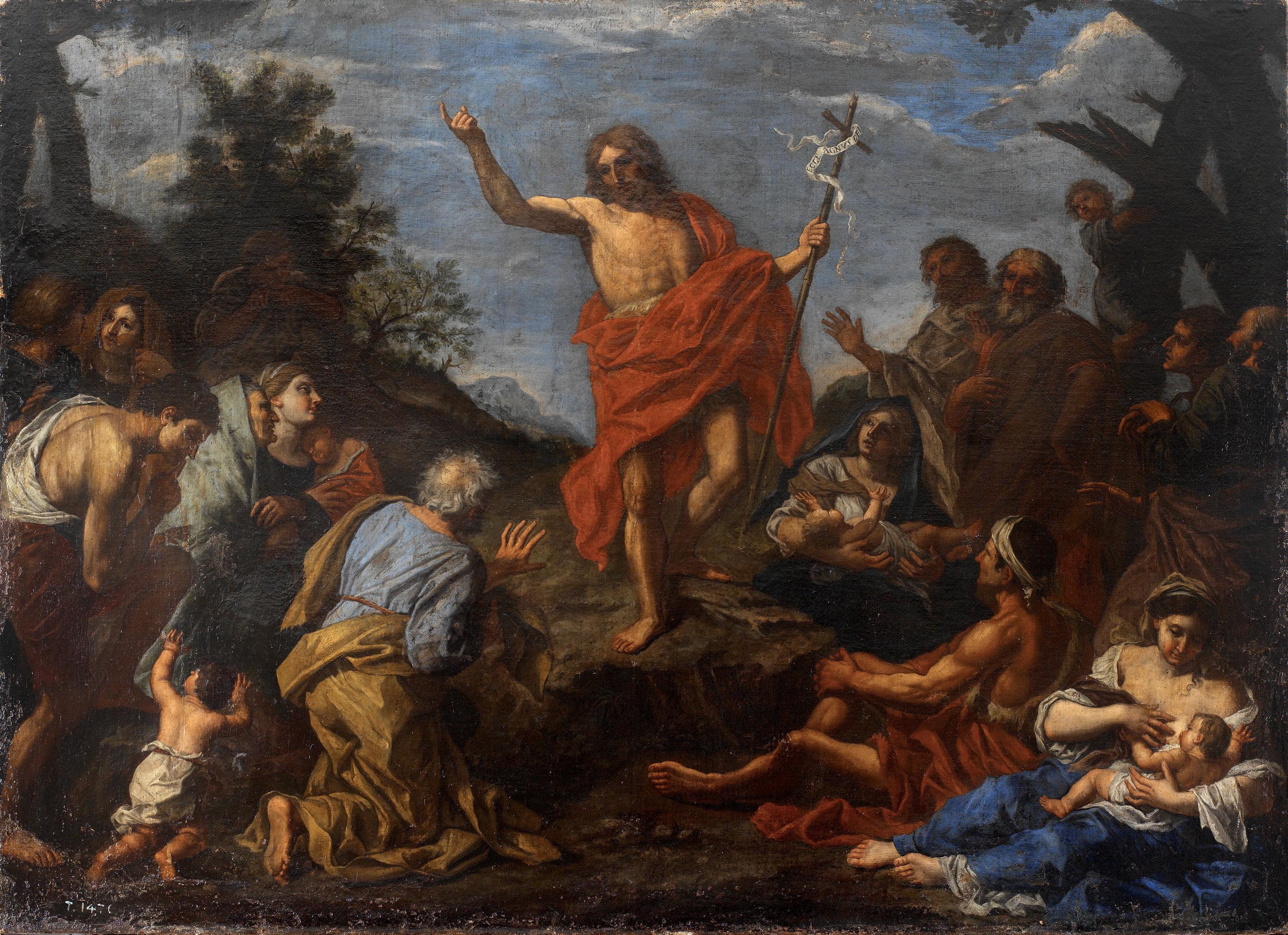 Archivo:Predicación de San Juan Bautista (Pier Francesco Mola).jpg ...