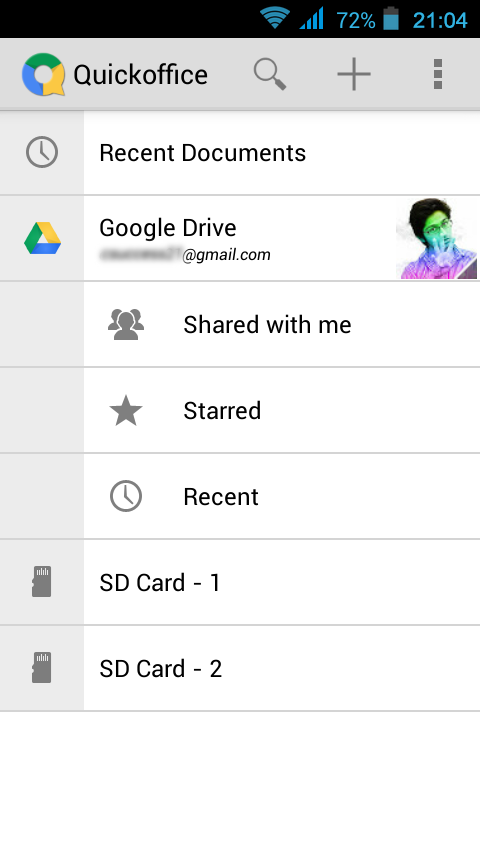 android market quickoffice