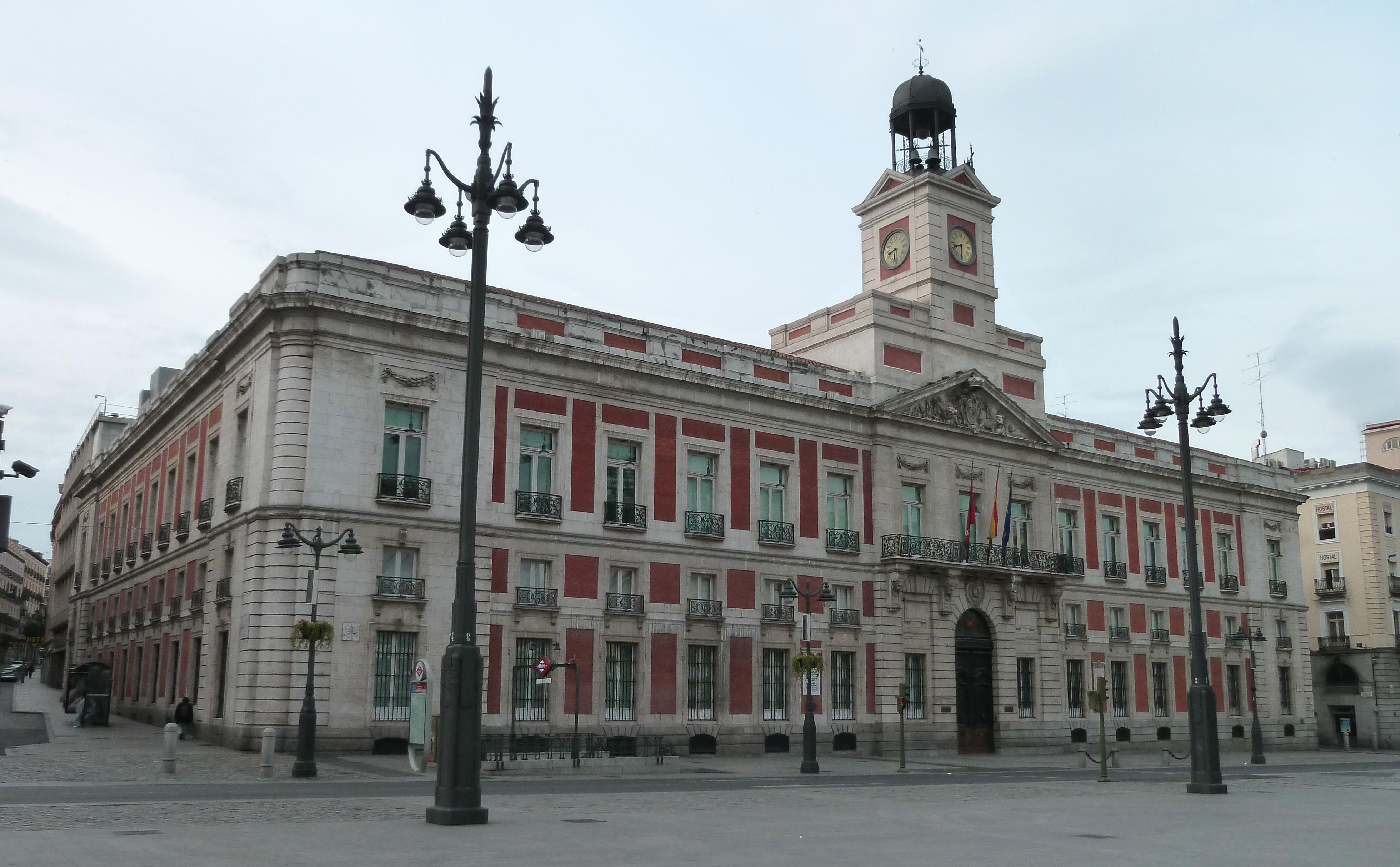 File real casa de correos madrid wikimedia commons - Casa de madrid ...