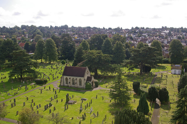 Reigate Cemetery - geograph.org.uk - 1040632