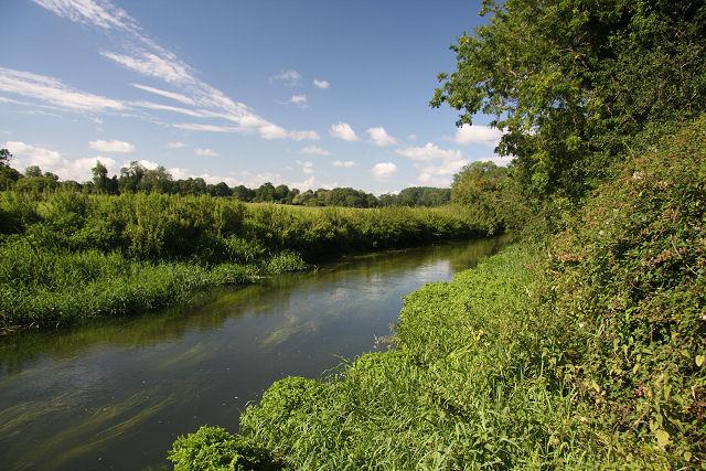 River Lark near Mildenhall - geograph.org.uk - 922558