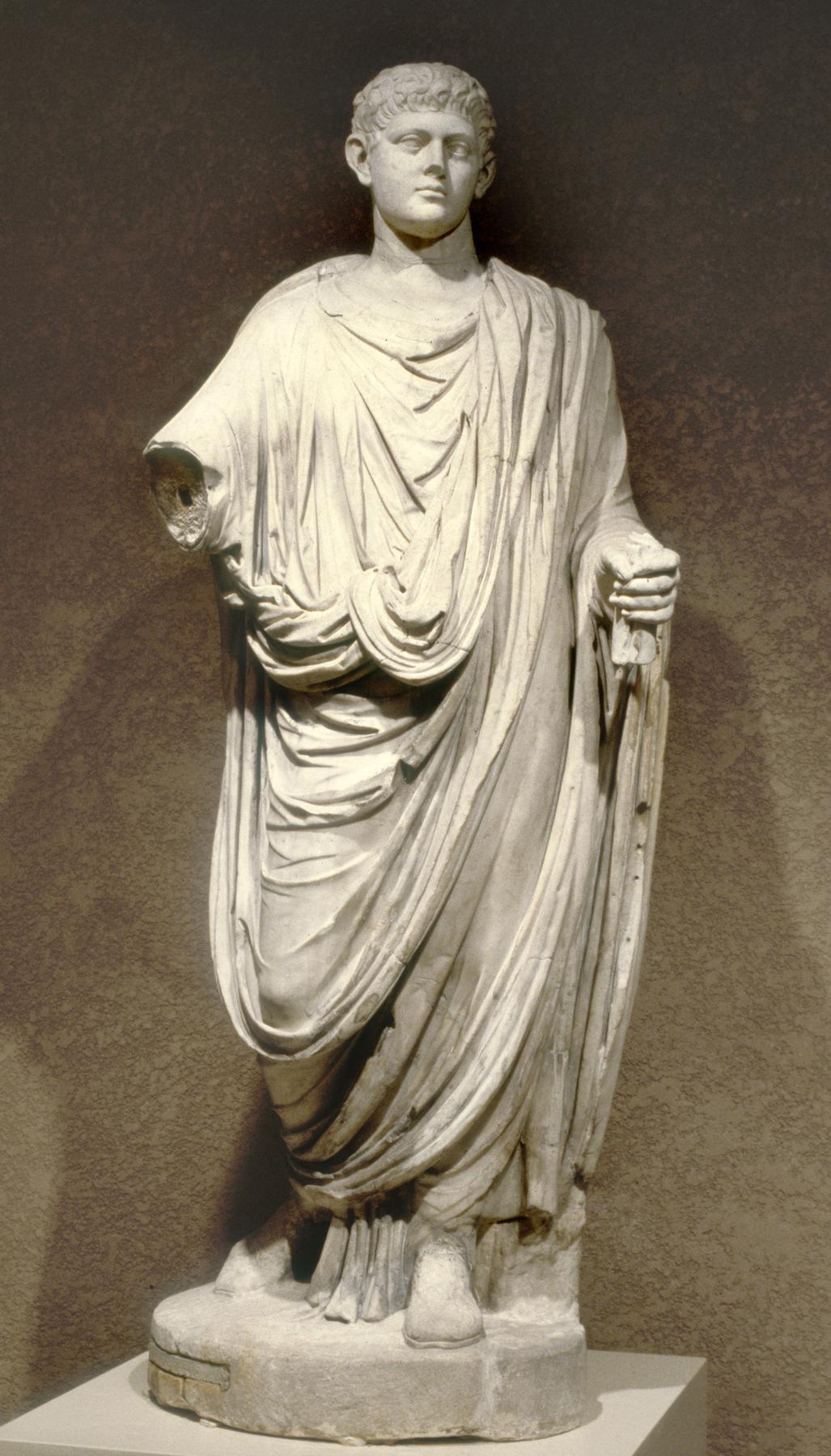 [Image: Roman_-_Emperor_Wearing_a_Toga_-_Walters_23226.jpg]