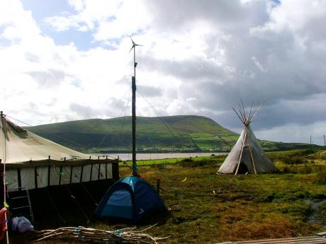 English: Rossport Solidarity Camp