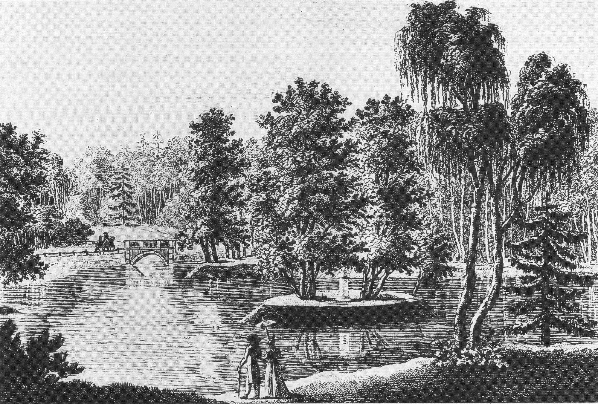 File Rousseau Insel im Tiergarten um 1800 Stich von Müller Wikimedia