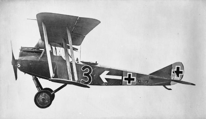 File:Rumpler C.VII side view c1918.jpg