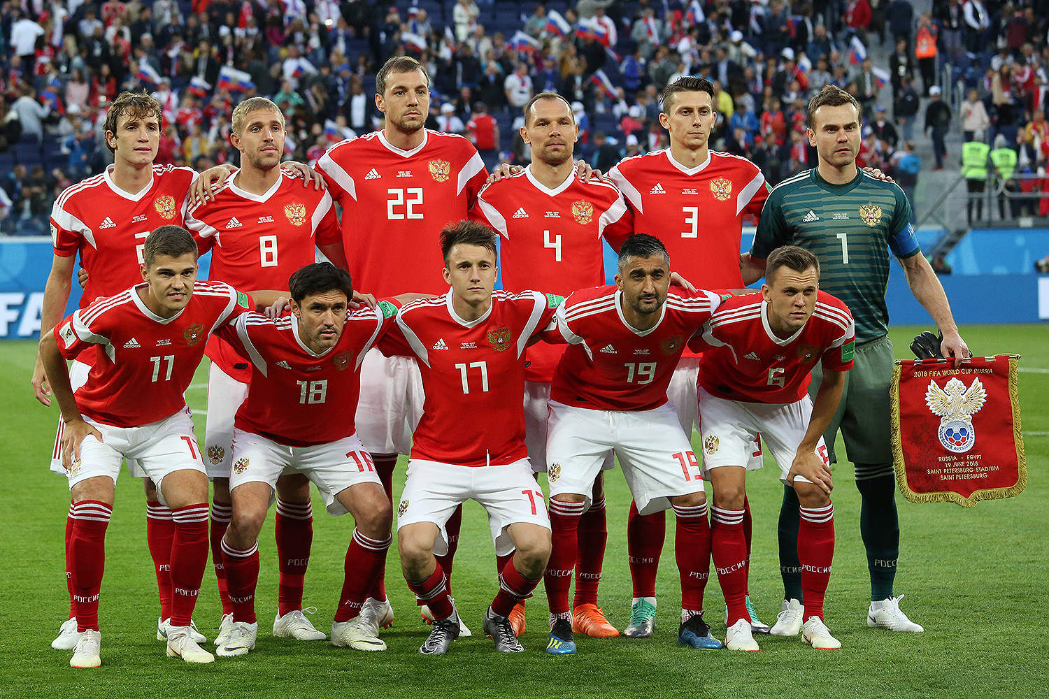 Russia national football team results (1992–2019) - Wikipedia