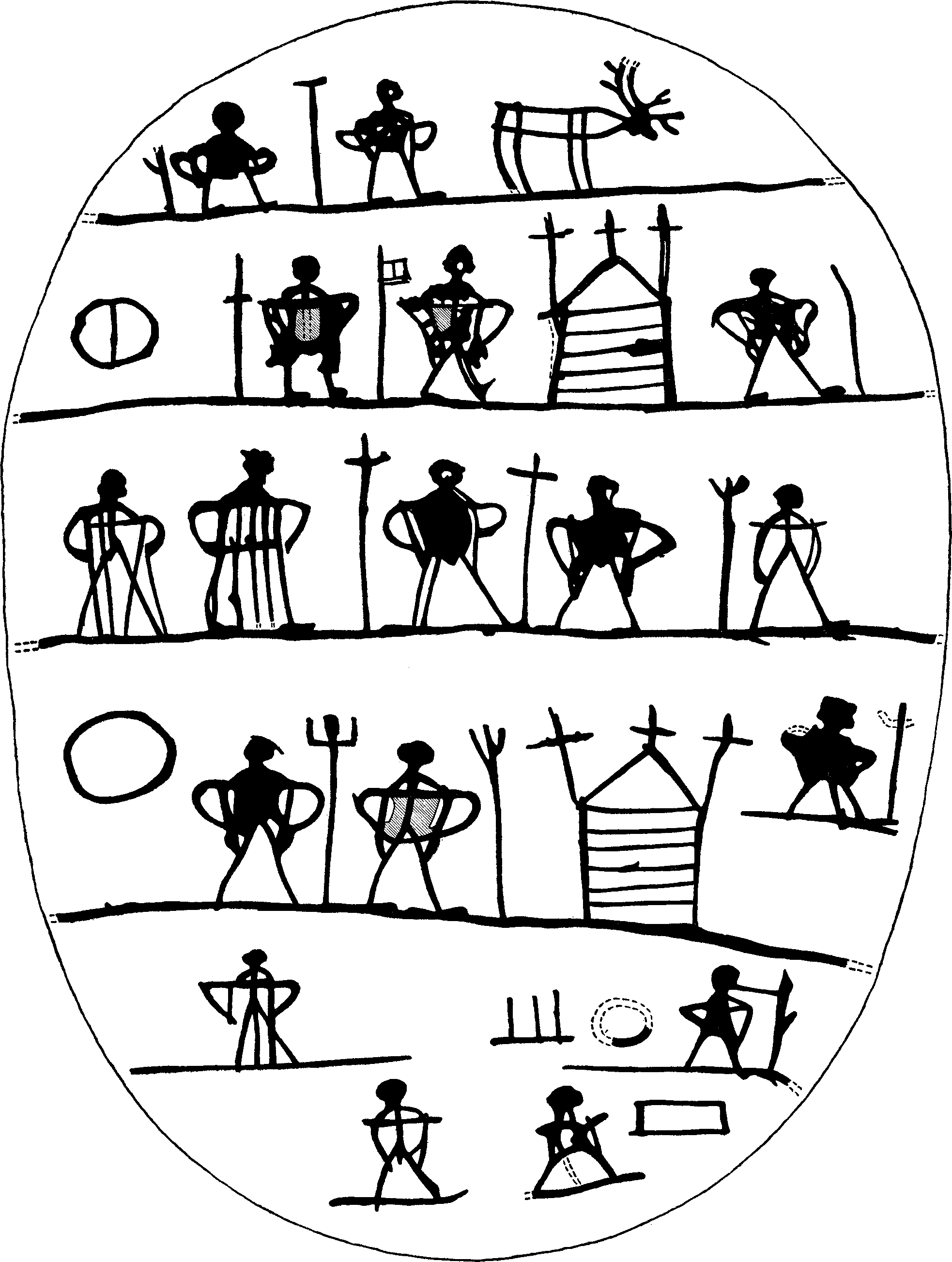Dato språk bokstaver på sølvfat
