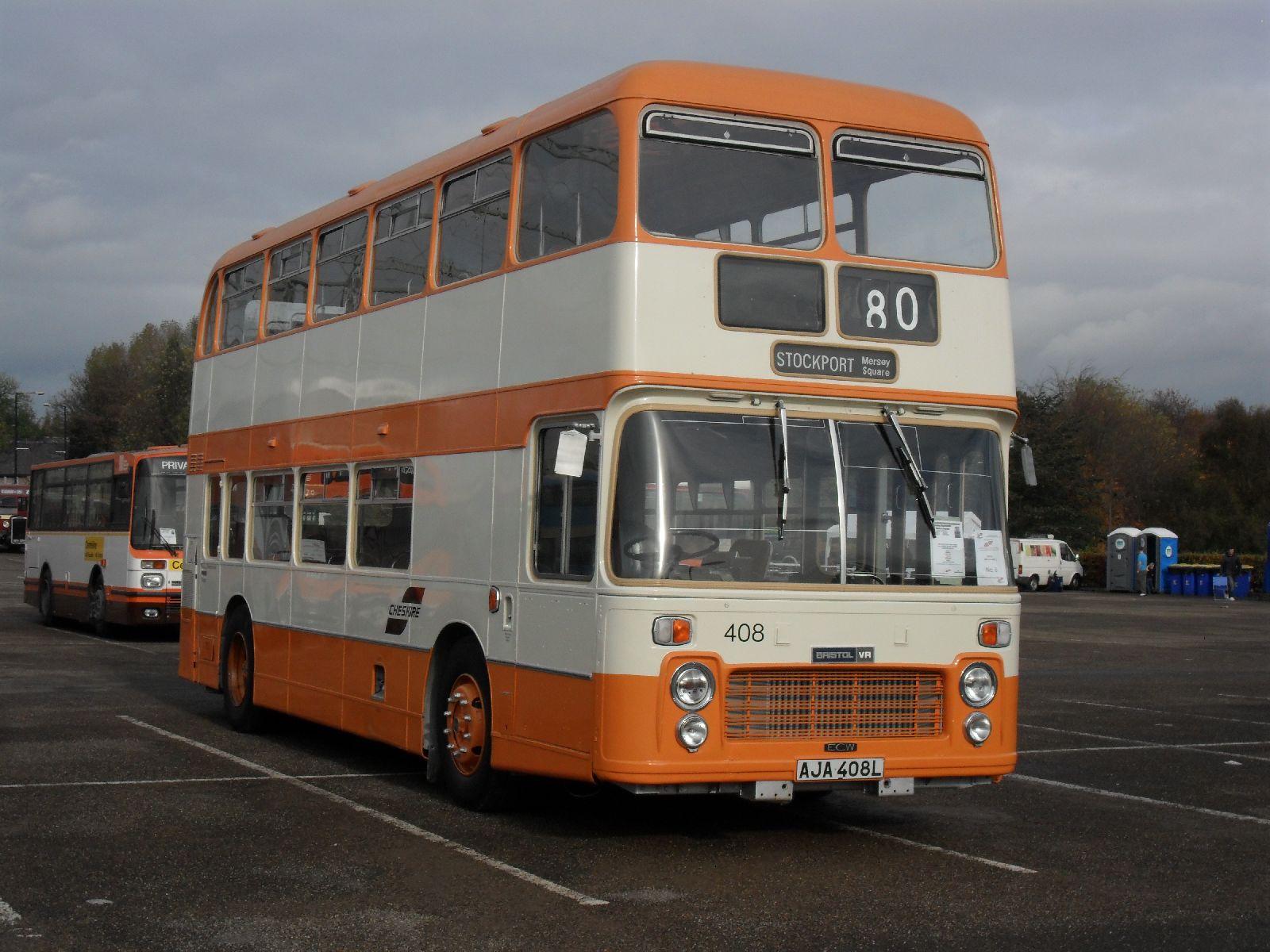 File:SELNEC bus 408 (AJA 408L), SELNEC 40 rally jpg