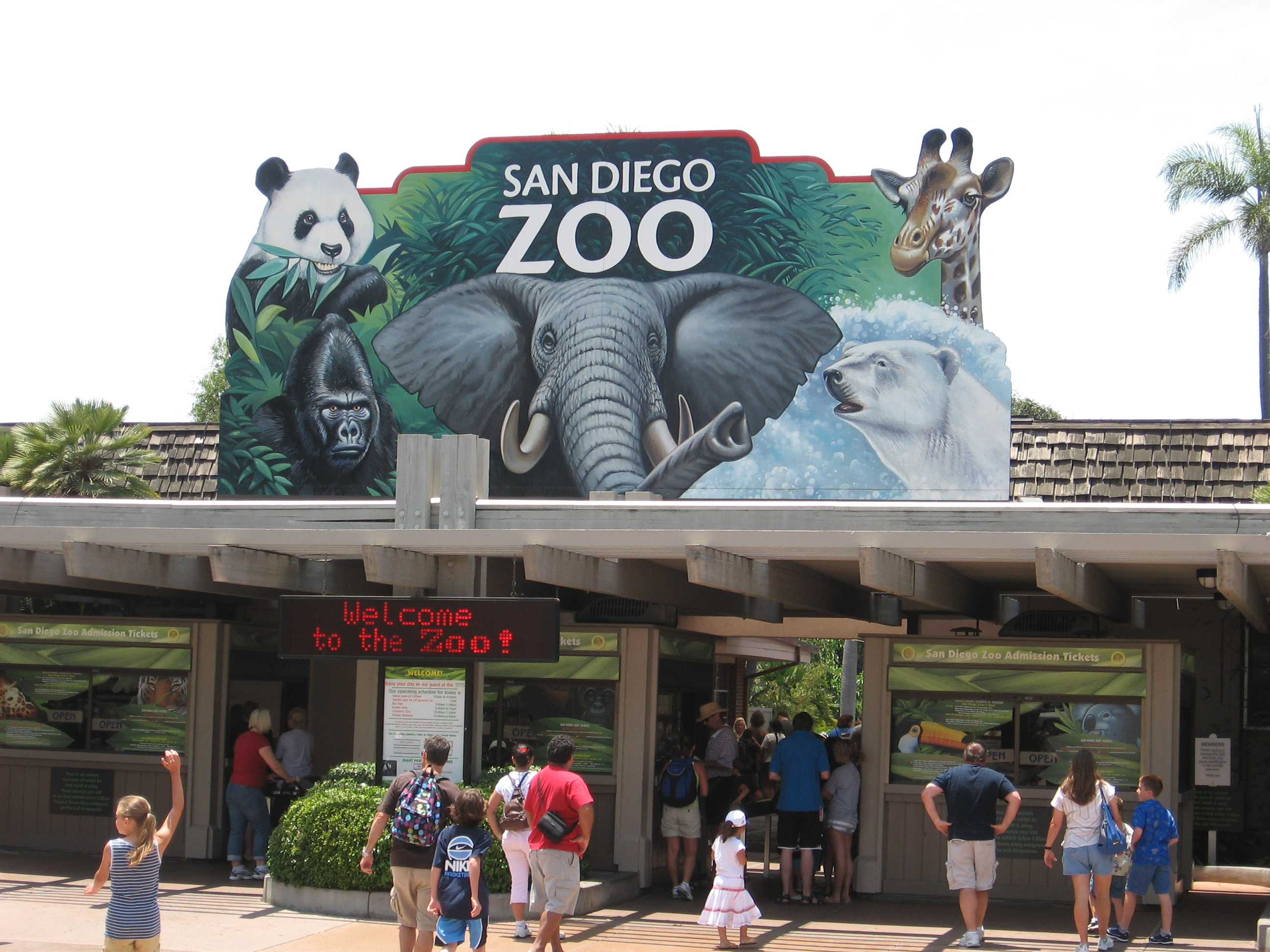 how to get to san diego zoo