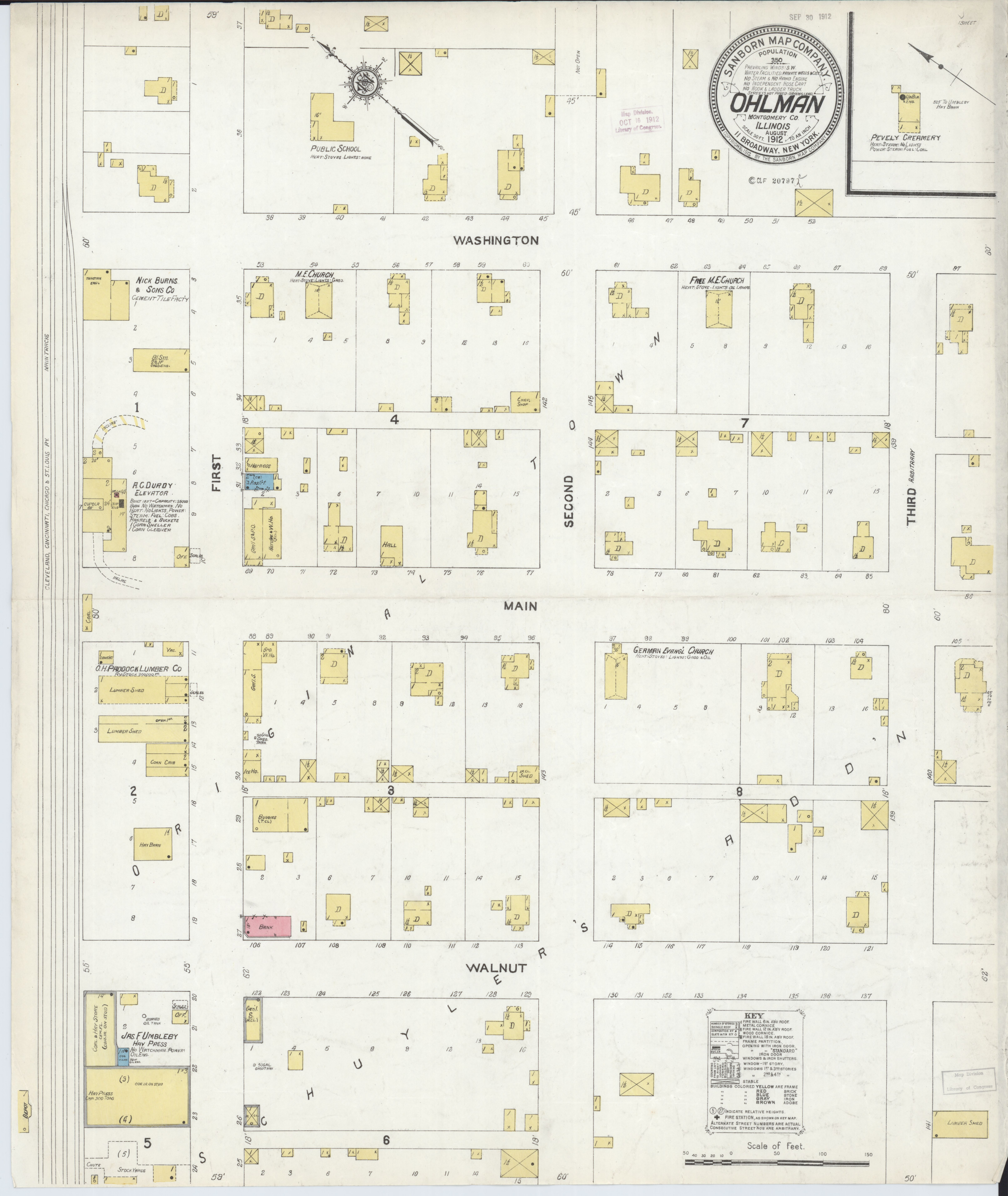 File:Sanborn Fire Insurance Map from Ohlman, Montgomery County ... on harris county tx map, montgomery county subdivision, new york key map, montgomery county symbols, houston key map,