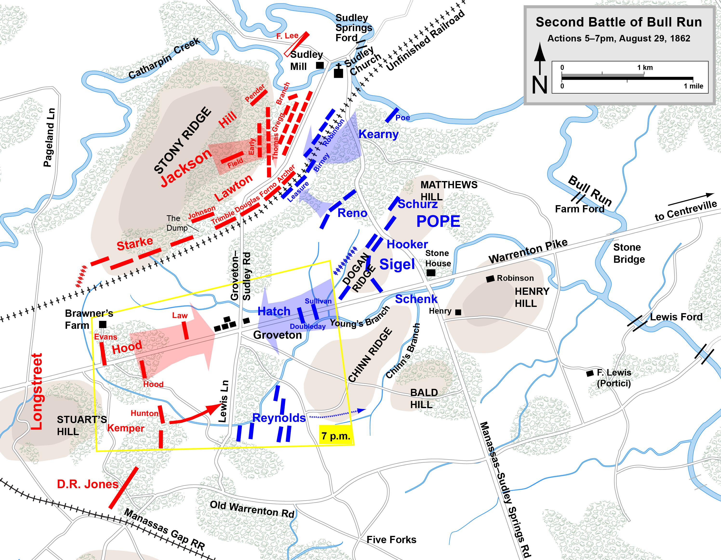second battle of bull run military wiki fandom powered