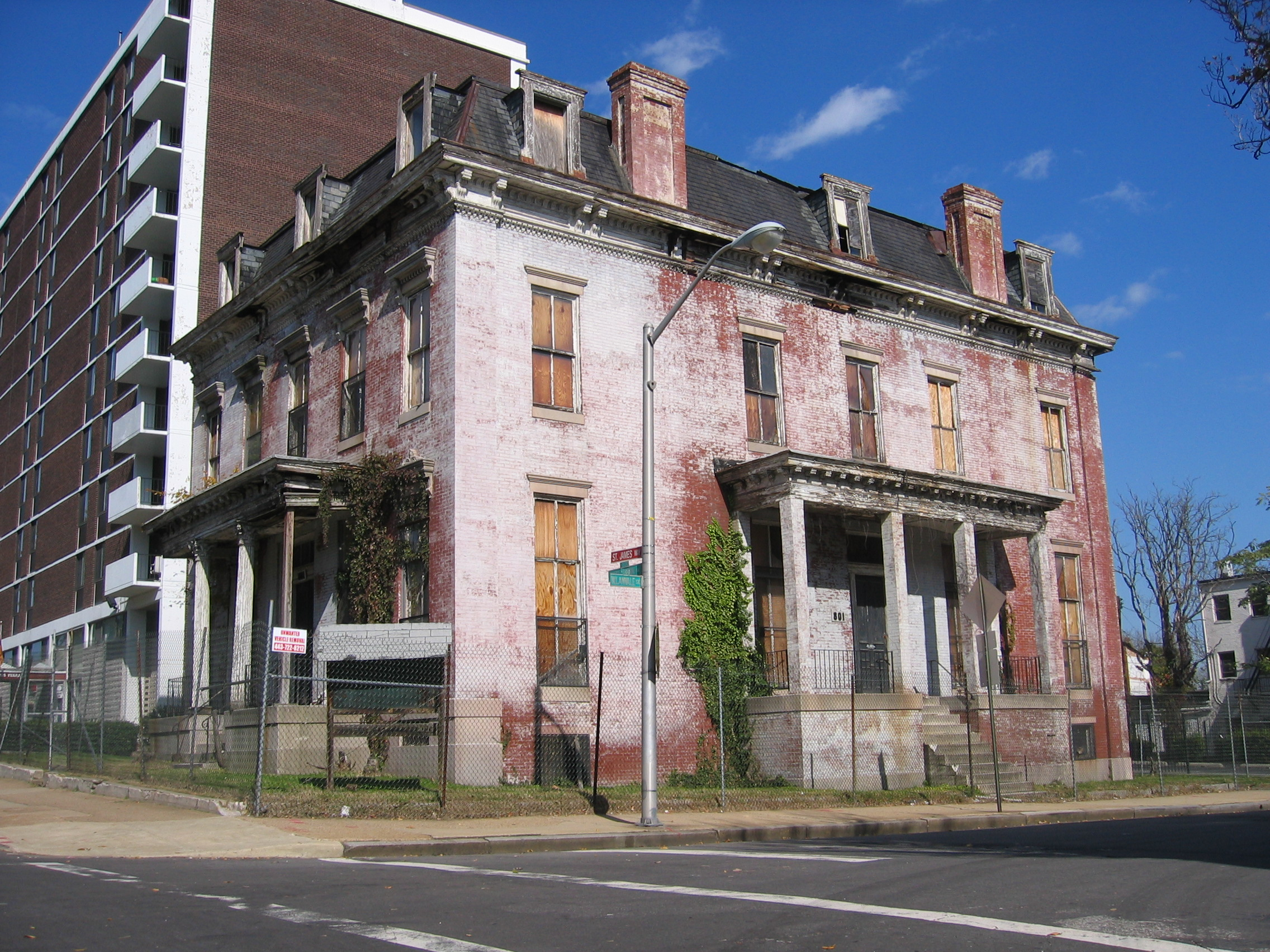 File Sellers Mansion Baltimore Jpg Wikipedia