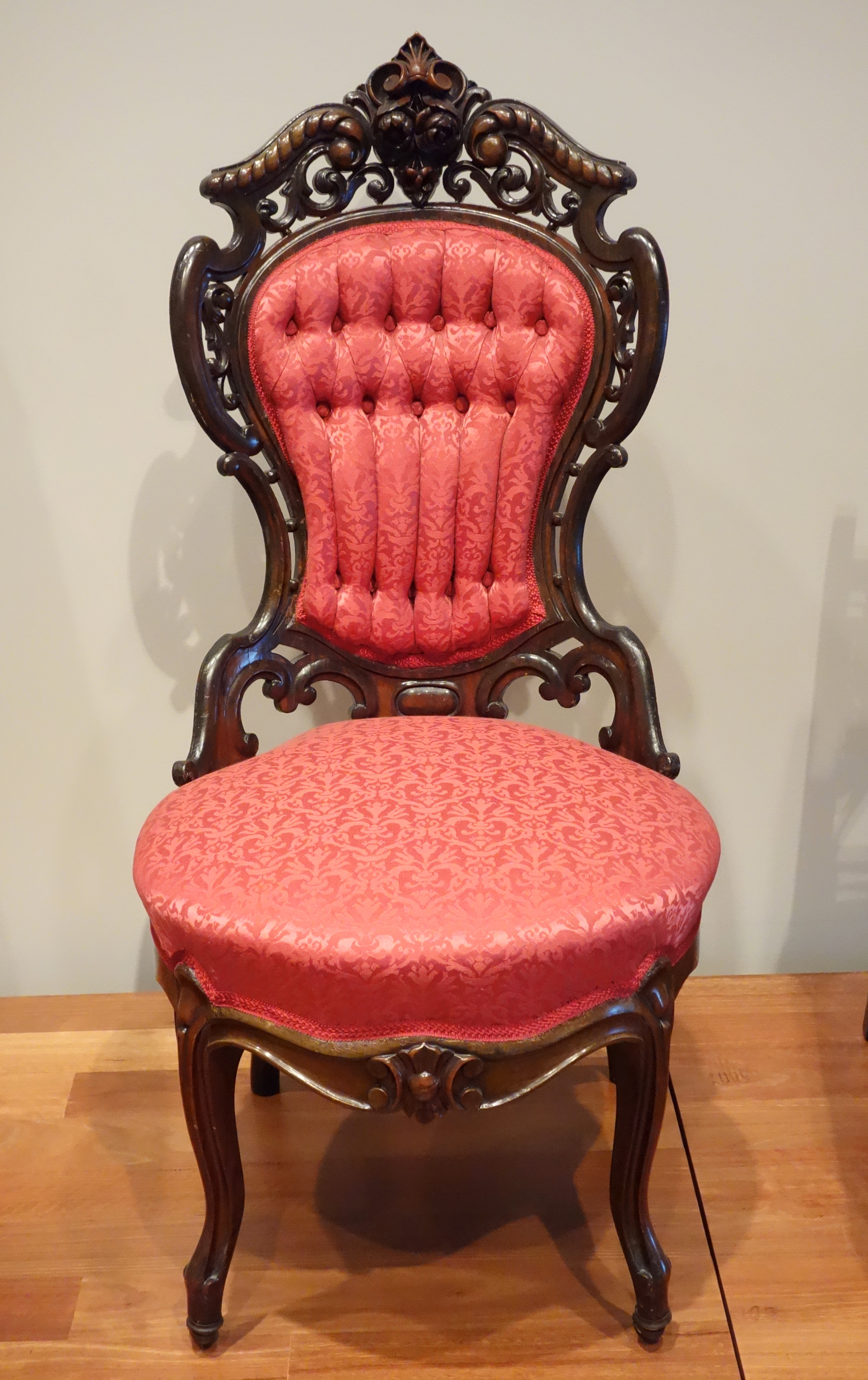File Side Chair Joseph Meeks Sons New York C 1850 1855 Carved And Laminated Rosewood De Young Museum Dsc00801 Jpg