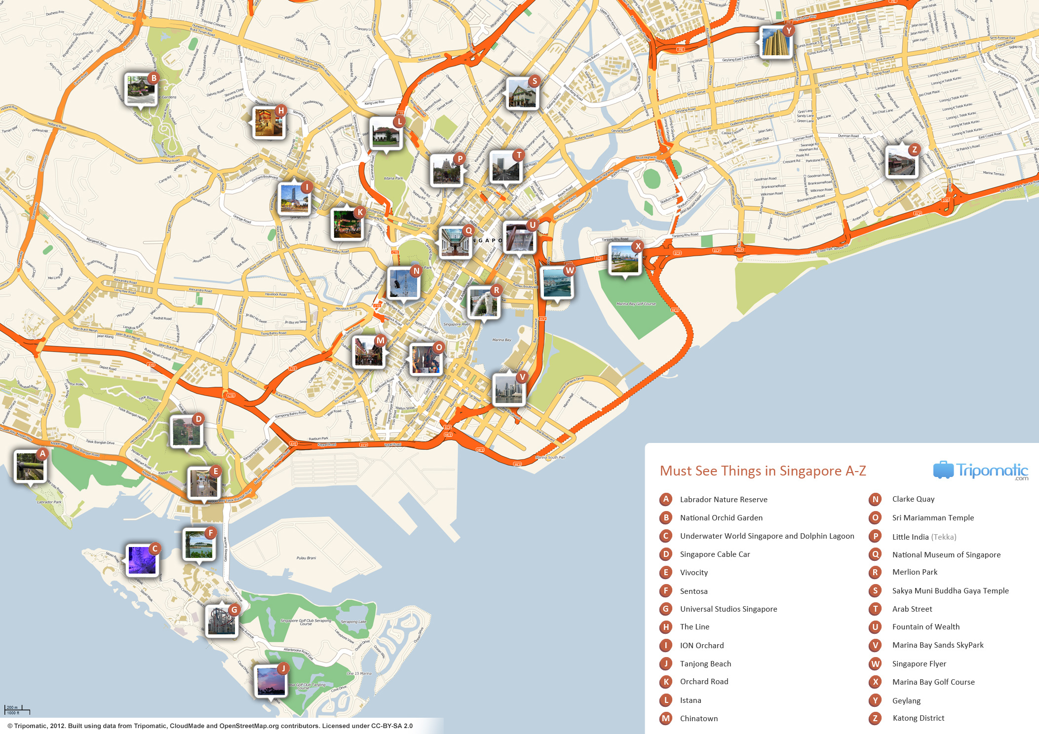 filesingapore printable tourist attractions mapjpg
