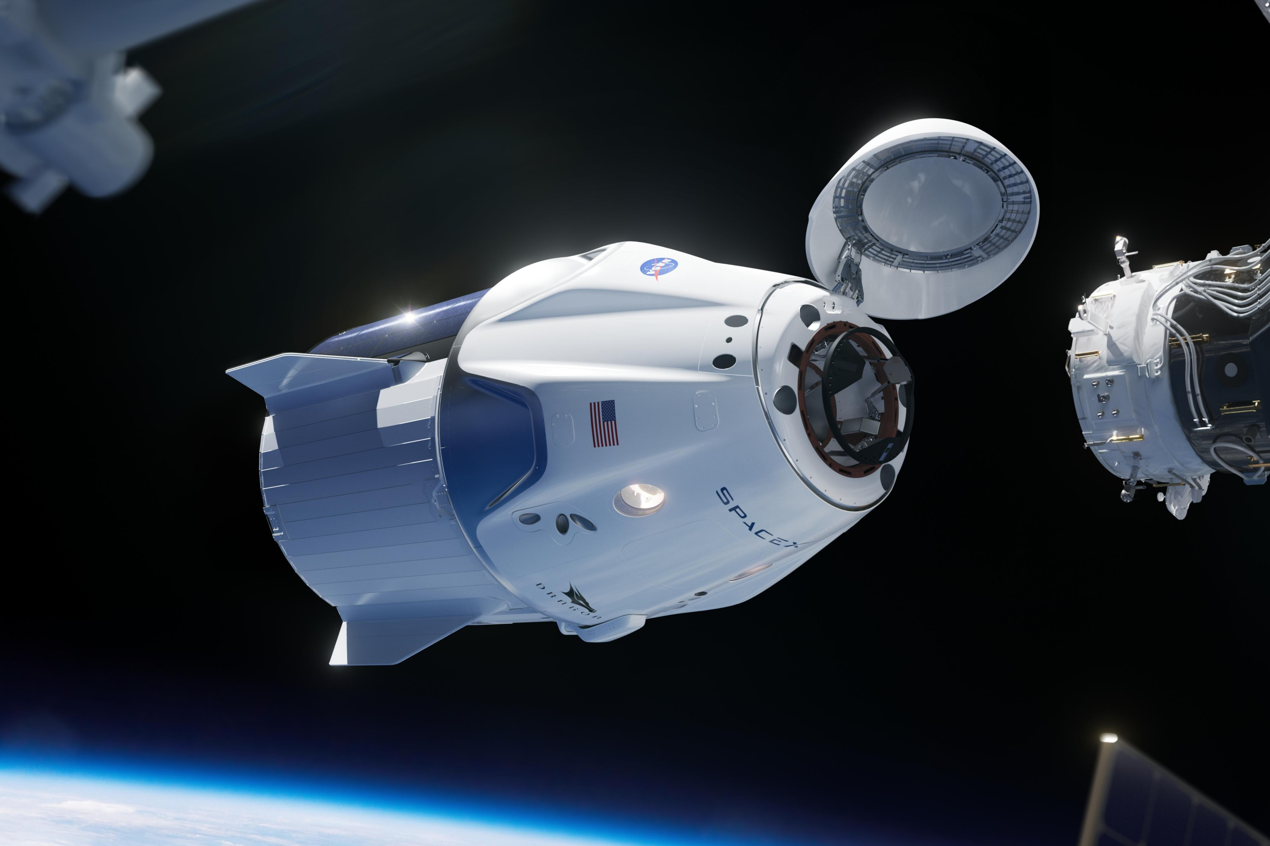 File:SpaceX Crew Dragon (More cropped).jpg - Wikimedia Commons