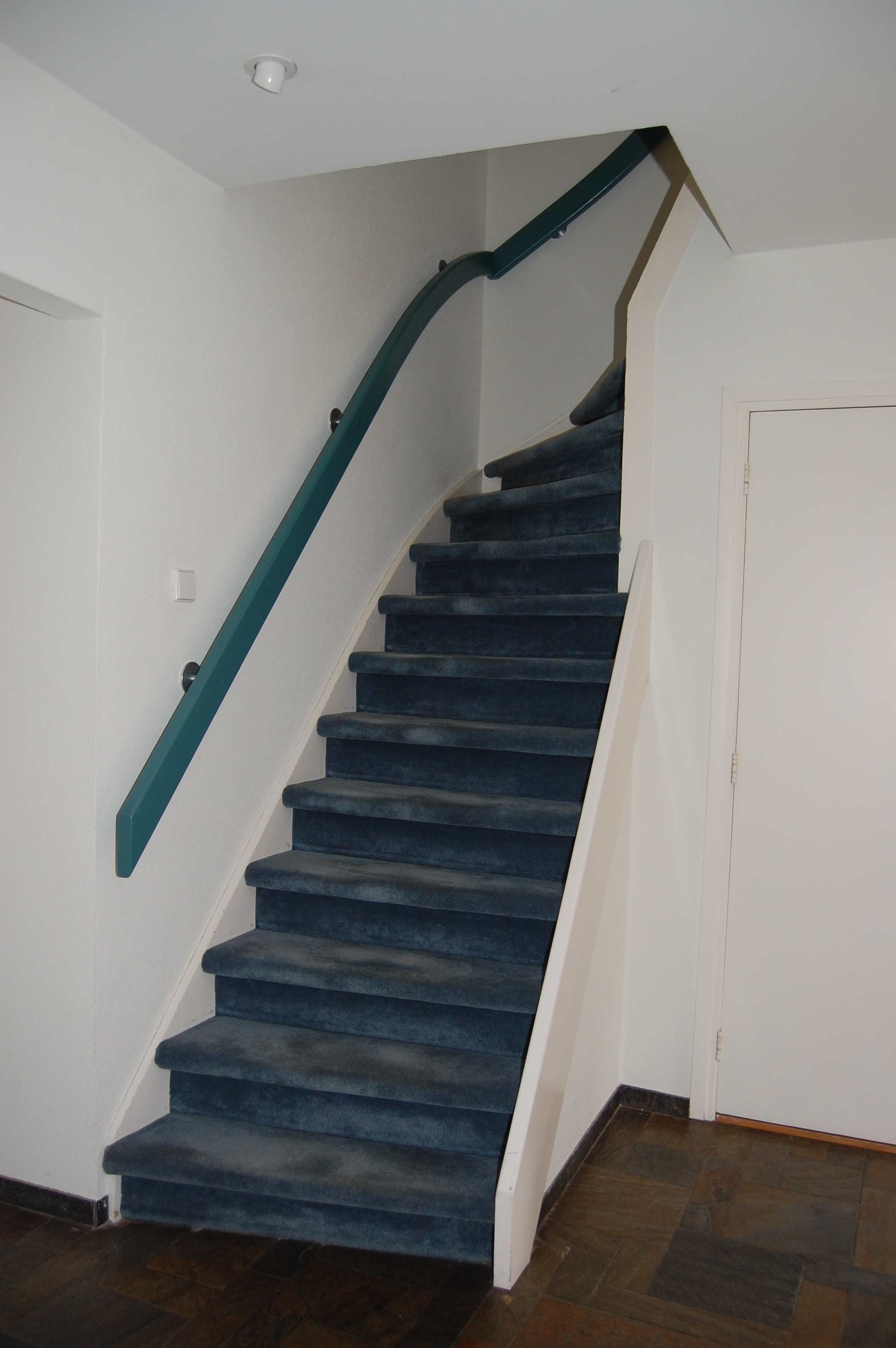 Staircase in a home in The Netherlandsedit