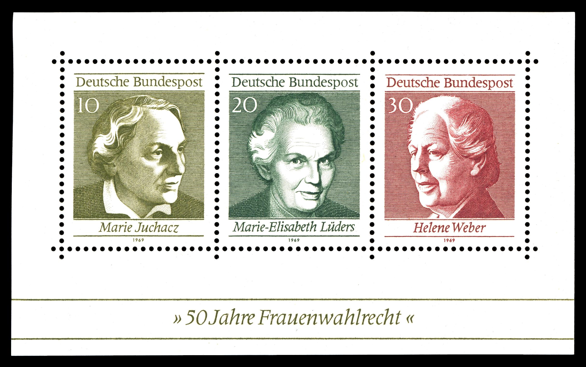 Briefmarken Jahrgang 1969 Der Deutschen Bundespost Wikipedia