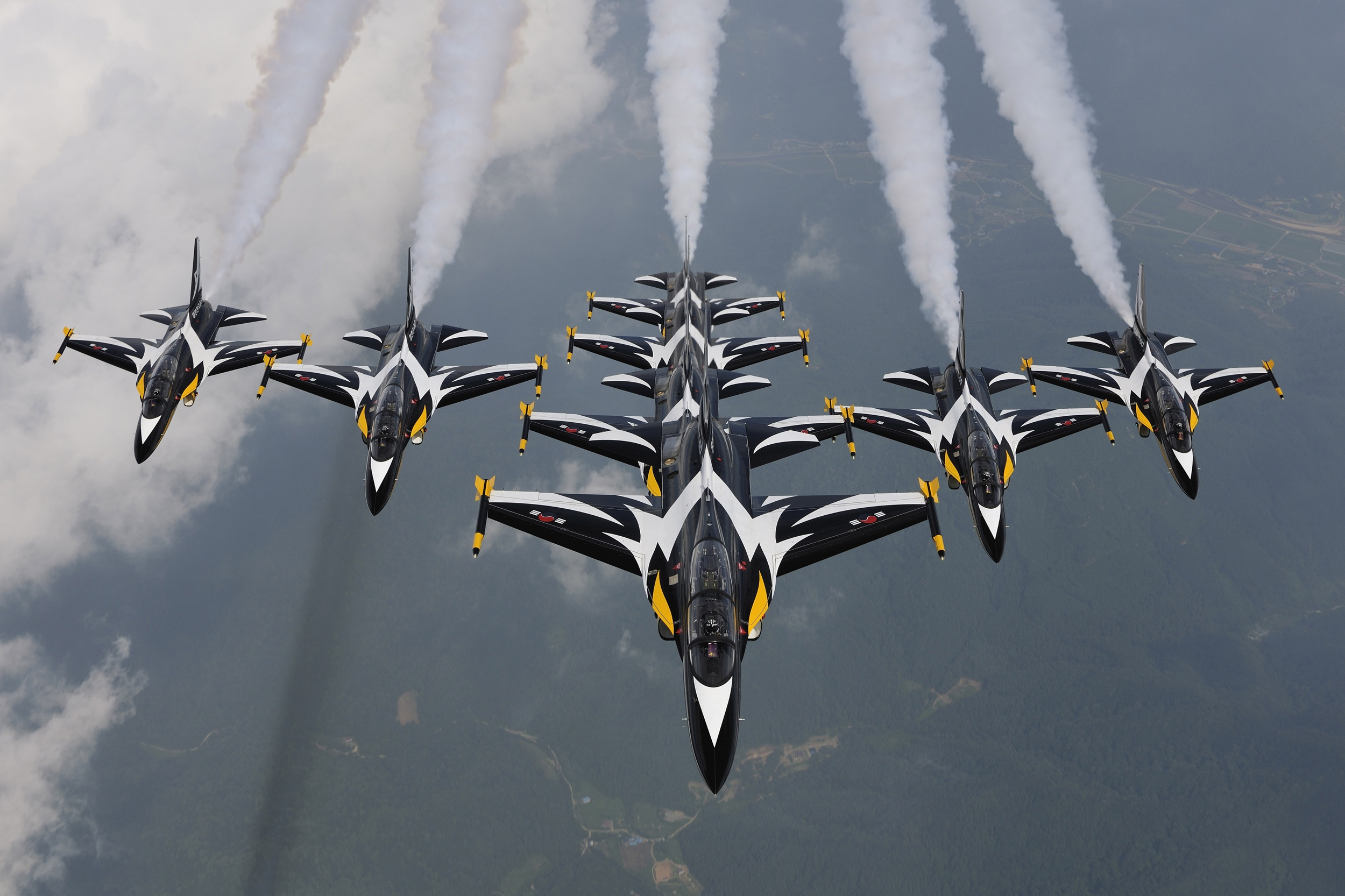 Black Eagles aerobatic team - Wikipedia