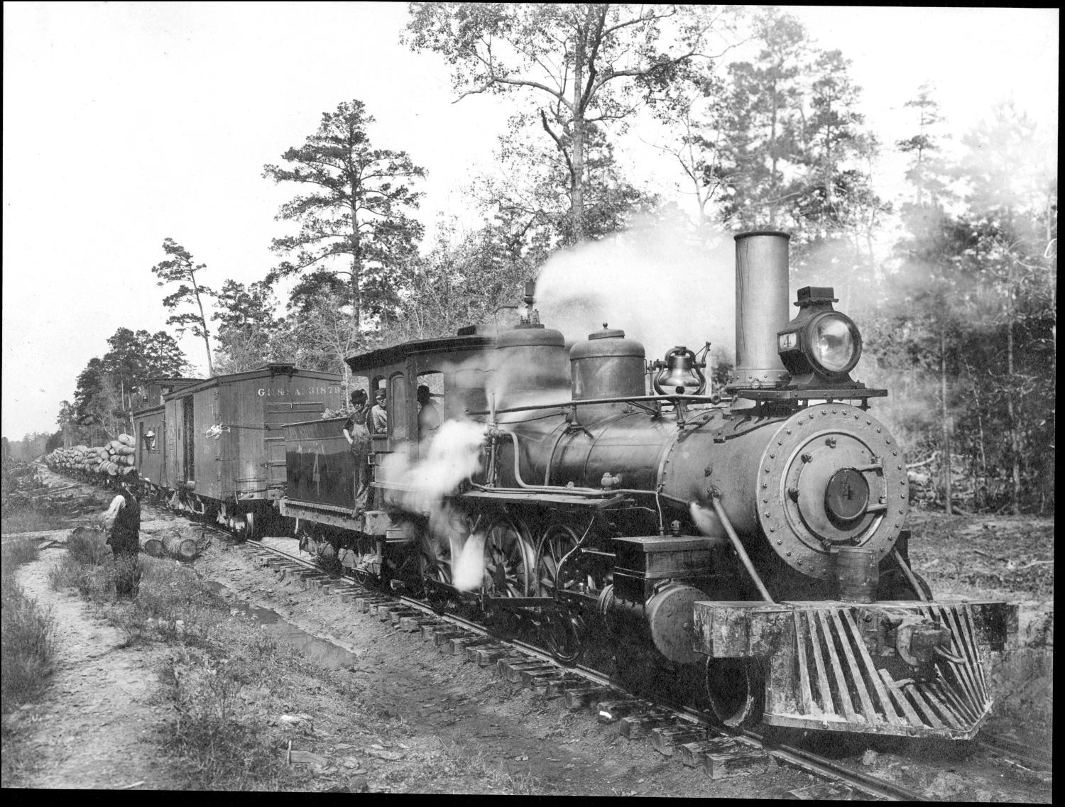 File Texas South Eastern Railroad Engine 4 Jpg Wikimedia