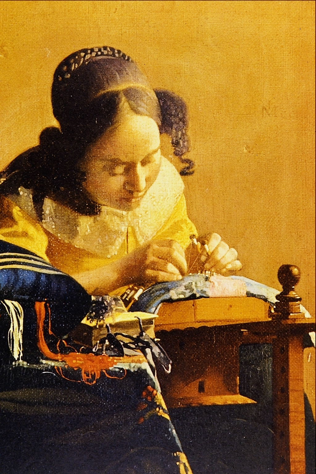 File The Lace Maker Jan Vermeer Van