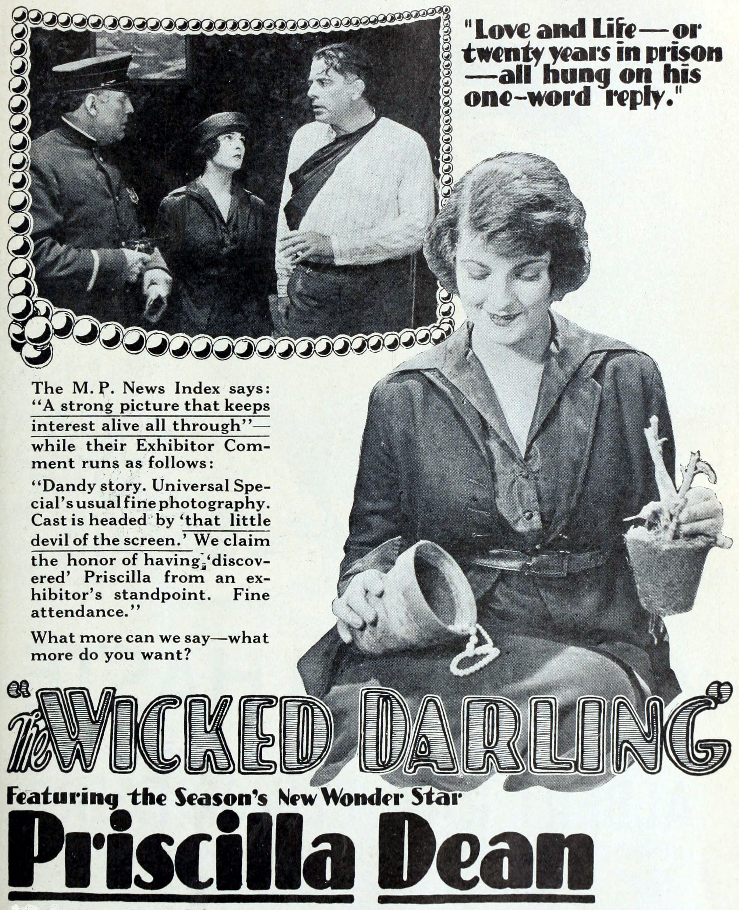 Votre dernier film visionné - Page 2 The_Wicked_Darling_%281919%29_-_5