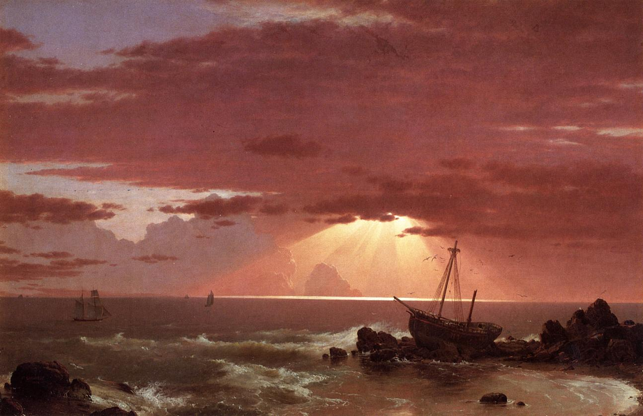 Image result for the wreck  painting