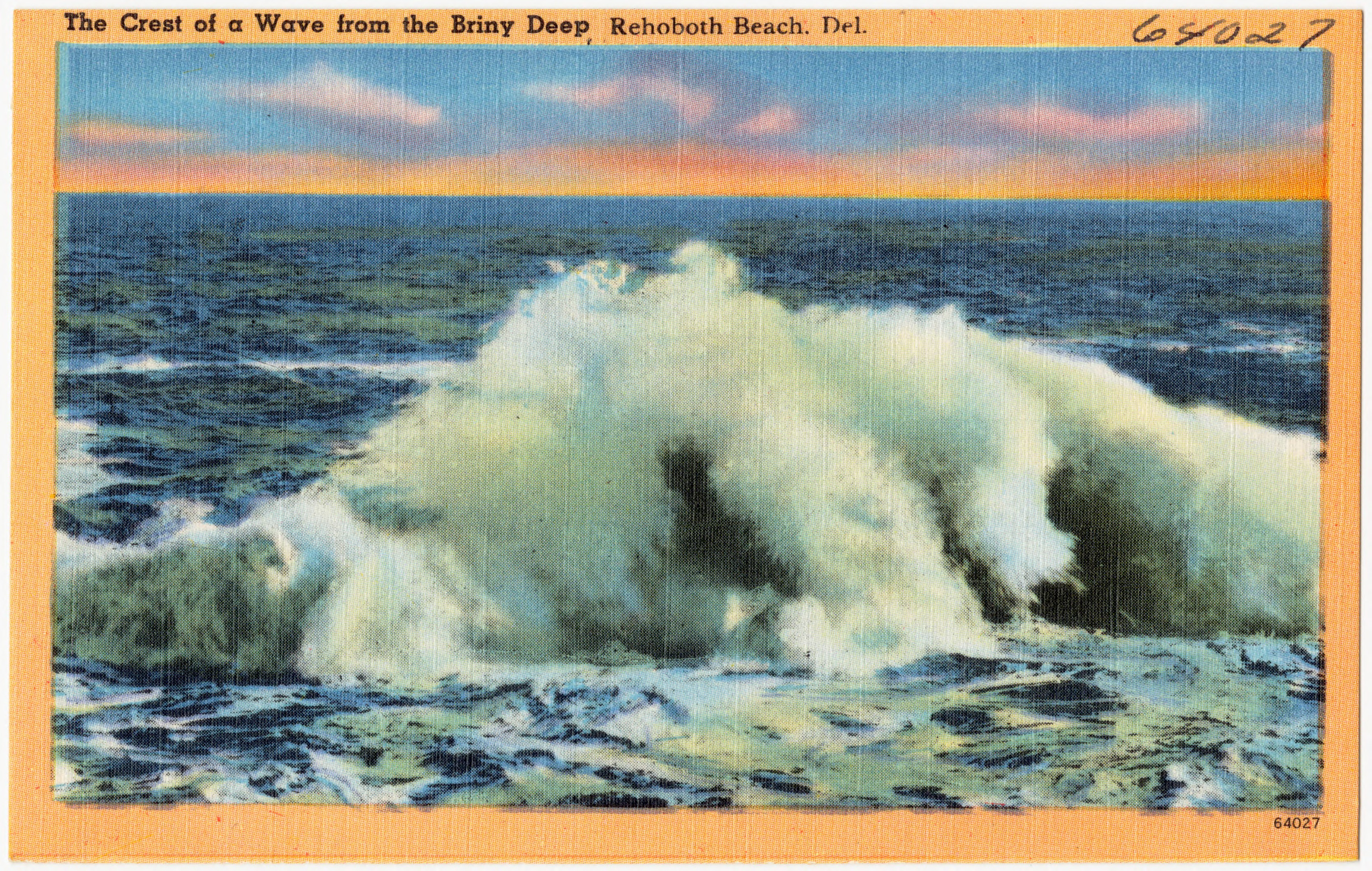 File The Crest Of A Wave From Briny Deep Rehoboth Beach Del