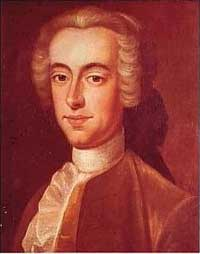 Governor of the Province of Massachusetts Bay Thomas Hutchinson, author of some of the inflammatory letters