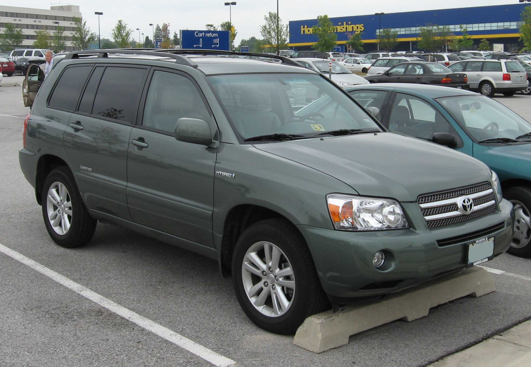 File Toyota Highlander Hybrid Limited Jpg Wikimedia Commons