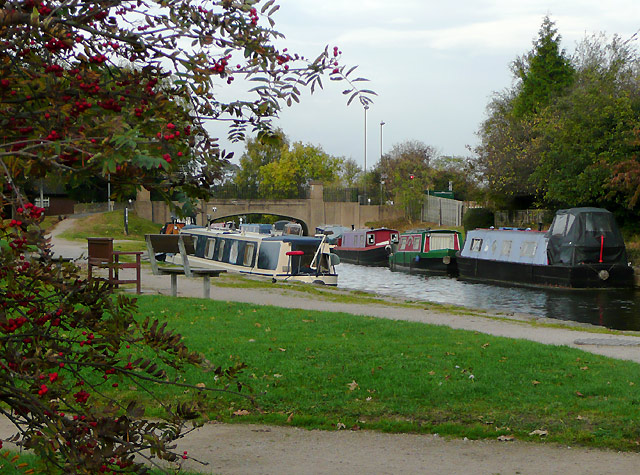 Trent and Mersey Canal at Willington Green, Derbyshire - geograph.org.uk - 1651127