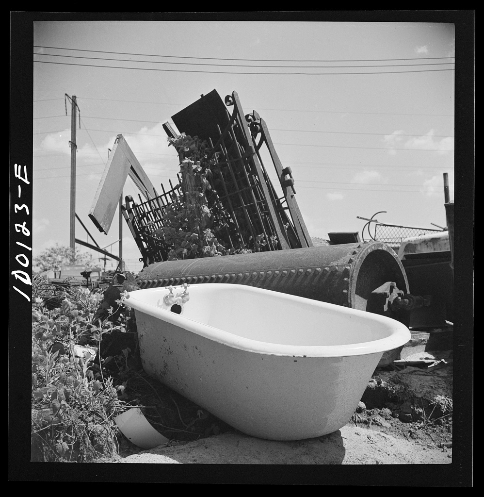 File:Victory Program. Bathtub, boiler and fence in wholesale ...