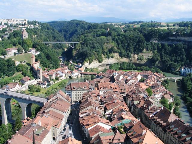 Centre Ville Fribourg Suisse