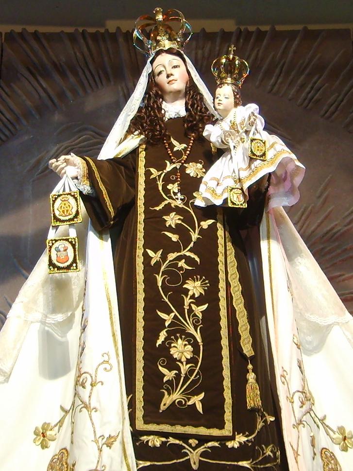 Virgen Del Carmen De Chile Wikipedia La Enciclopedia Libre