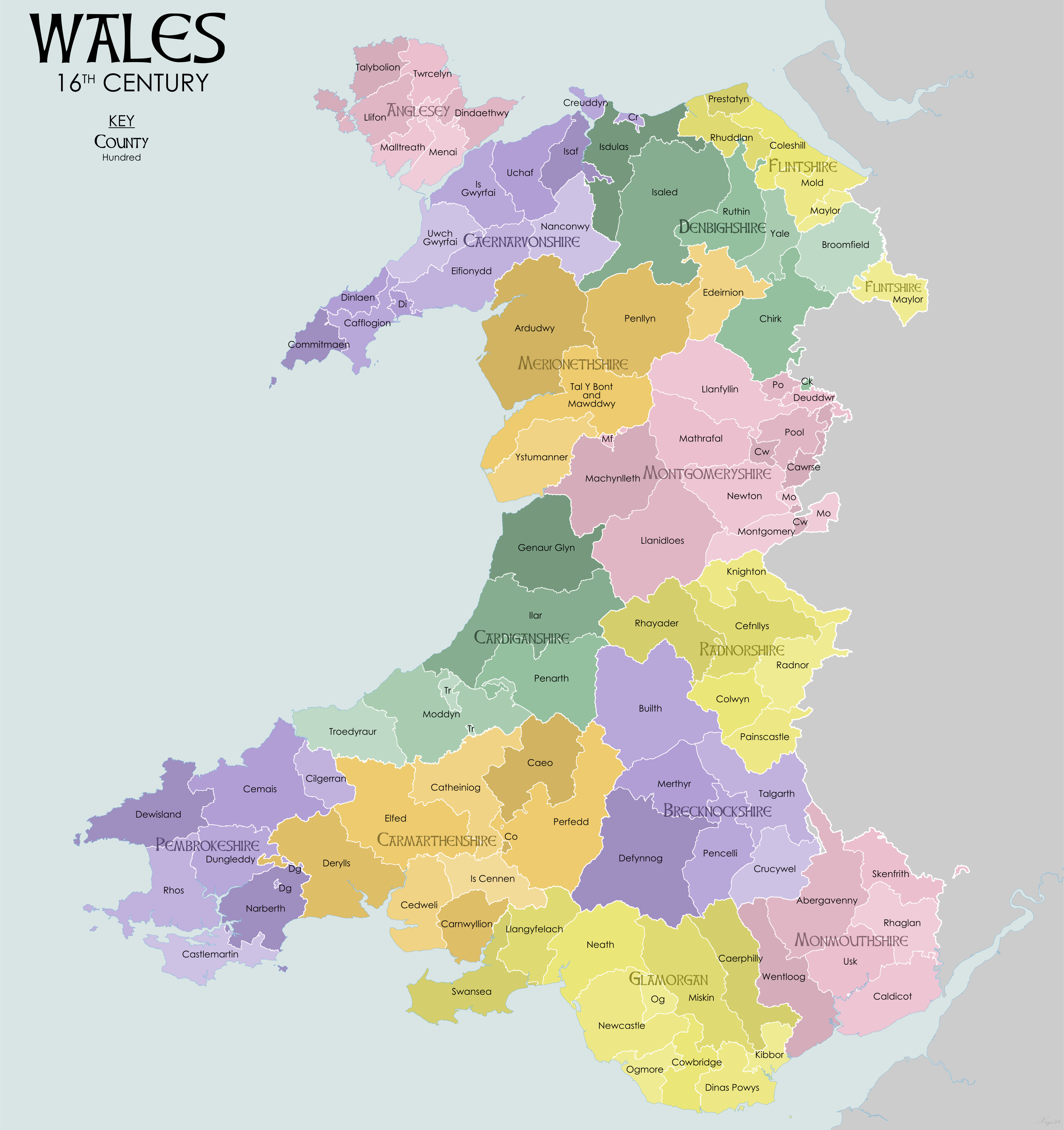File:Wales 16C Map.png - Wikimedia Commons