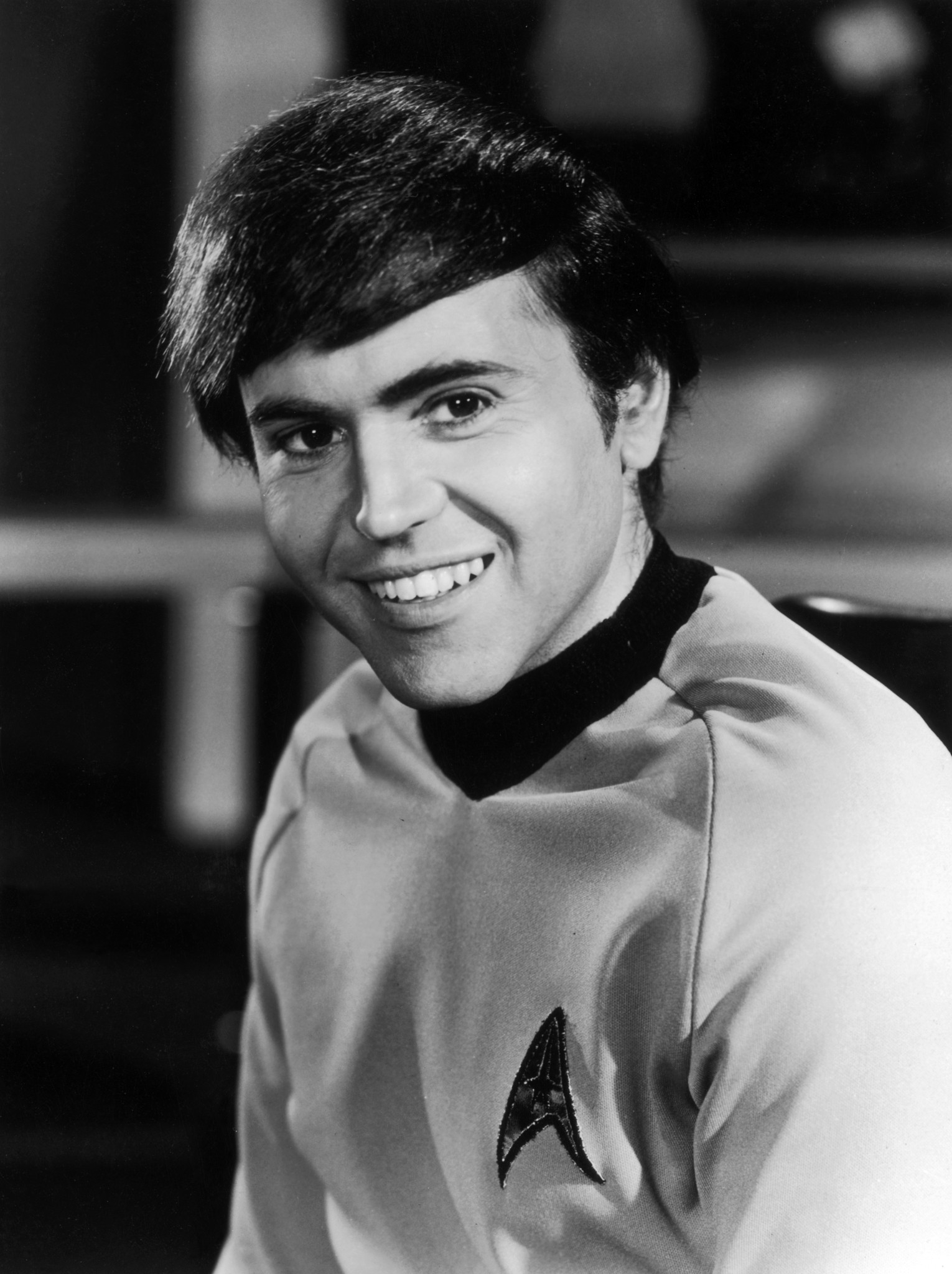 Walter Joenig as Chekov in Star Trek, circa 1969