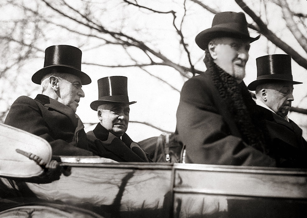 File:Warren G. Harding inauguration - convertible.jpg - Wikimedia Commons