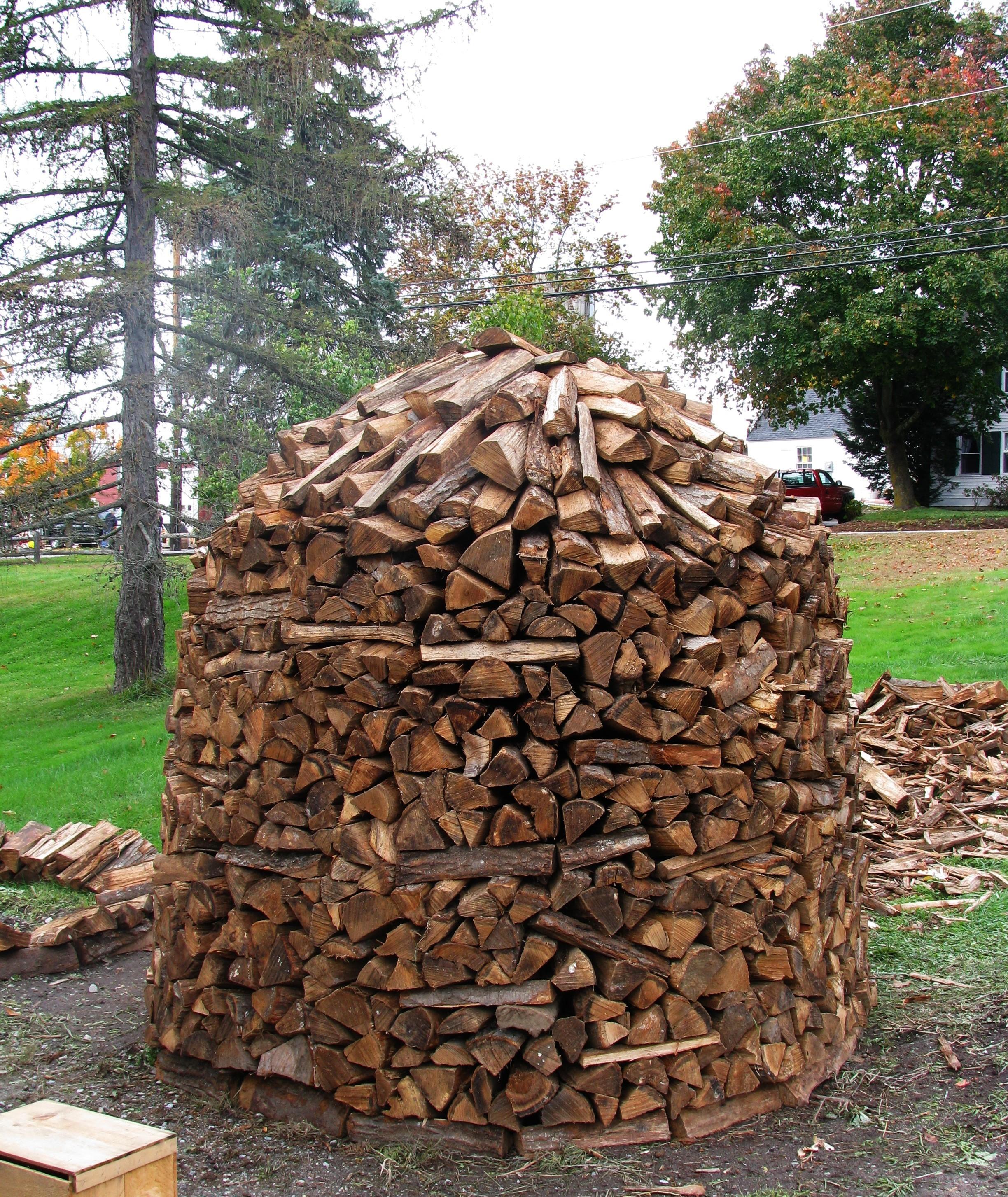 File Wood Pile In Hollis Nh Jpg Wikimedia Commons