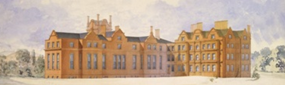 Proposals for an extension to Kew Palace by Jeffry Wyatville for William IV, 1829 WyatvilleKewPalace.png