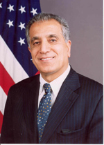 Zalmay Khalilzad, United States Ambassador to the United Nations, is an ethnic Pashtun.