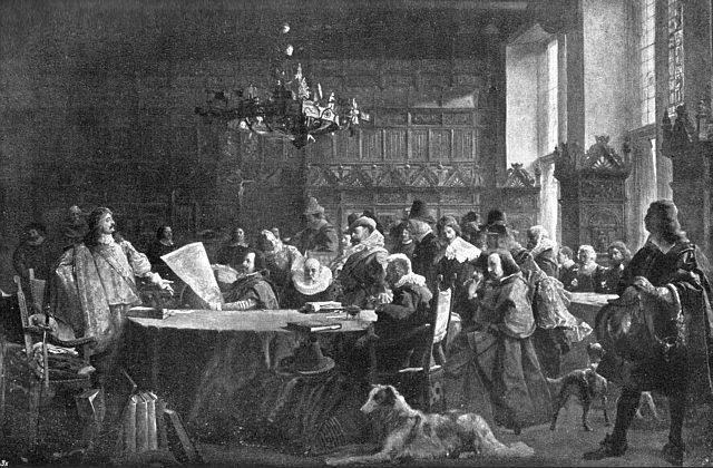 1648 verhandlungen-rathaussaal-muenster-westfaelischer-friede 1-640x420