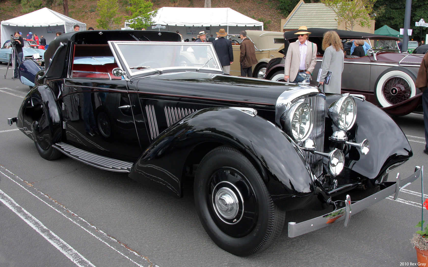 Concours D Elegance >> File:1936 Bentley 3,5 Litre.jpg - Wikimedia Commons