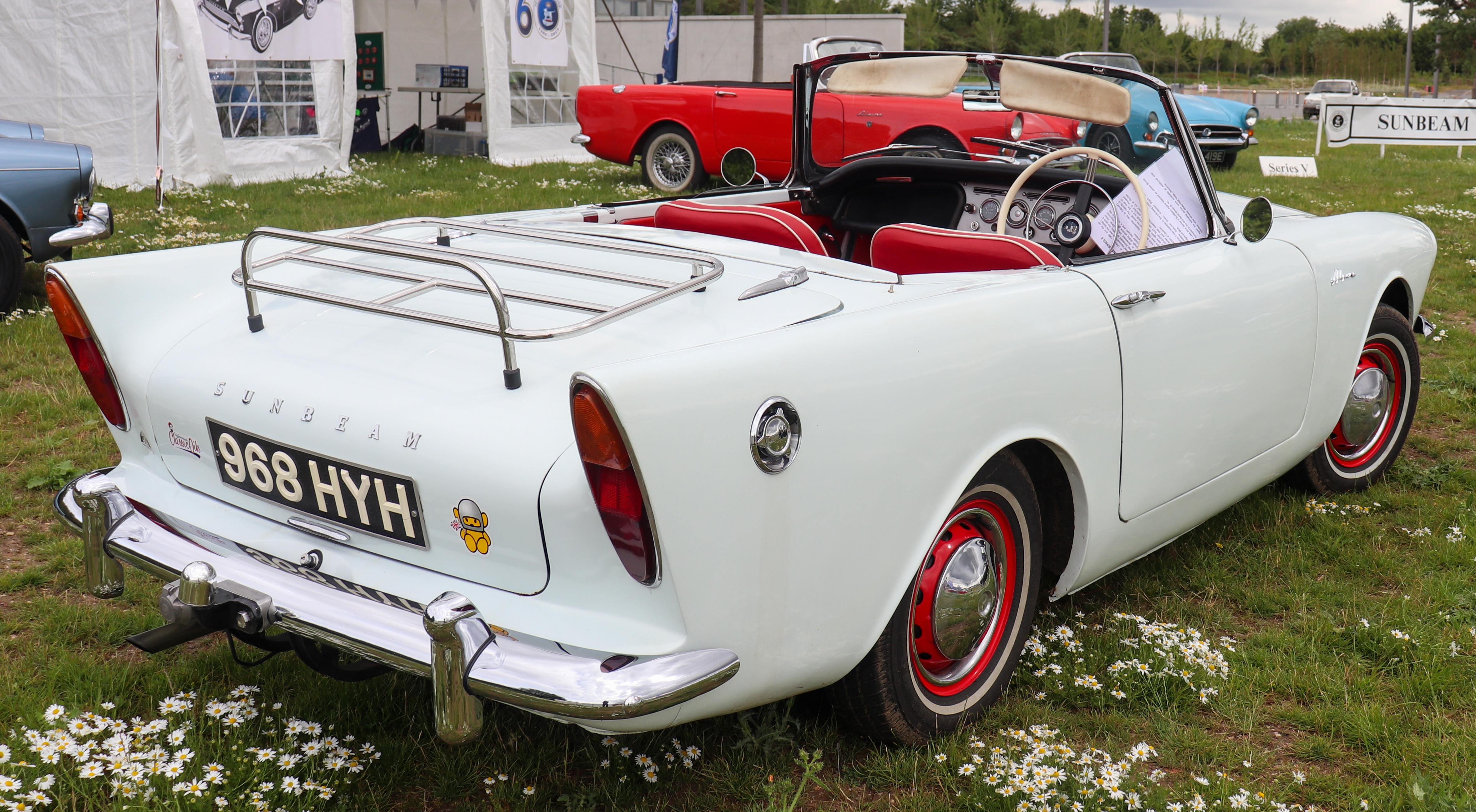 1962_Sunbeam_Alpine_Series_II_1.6_Rear.j