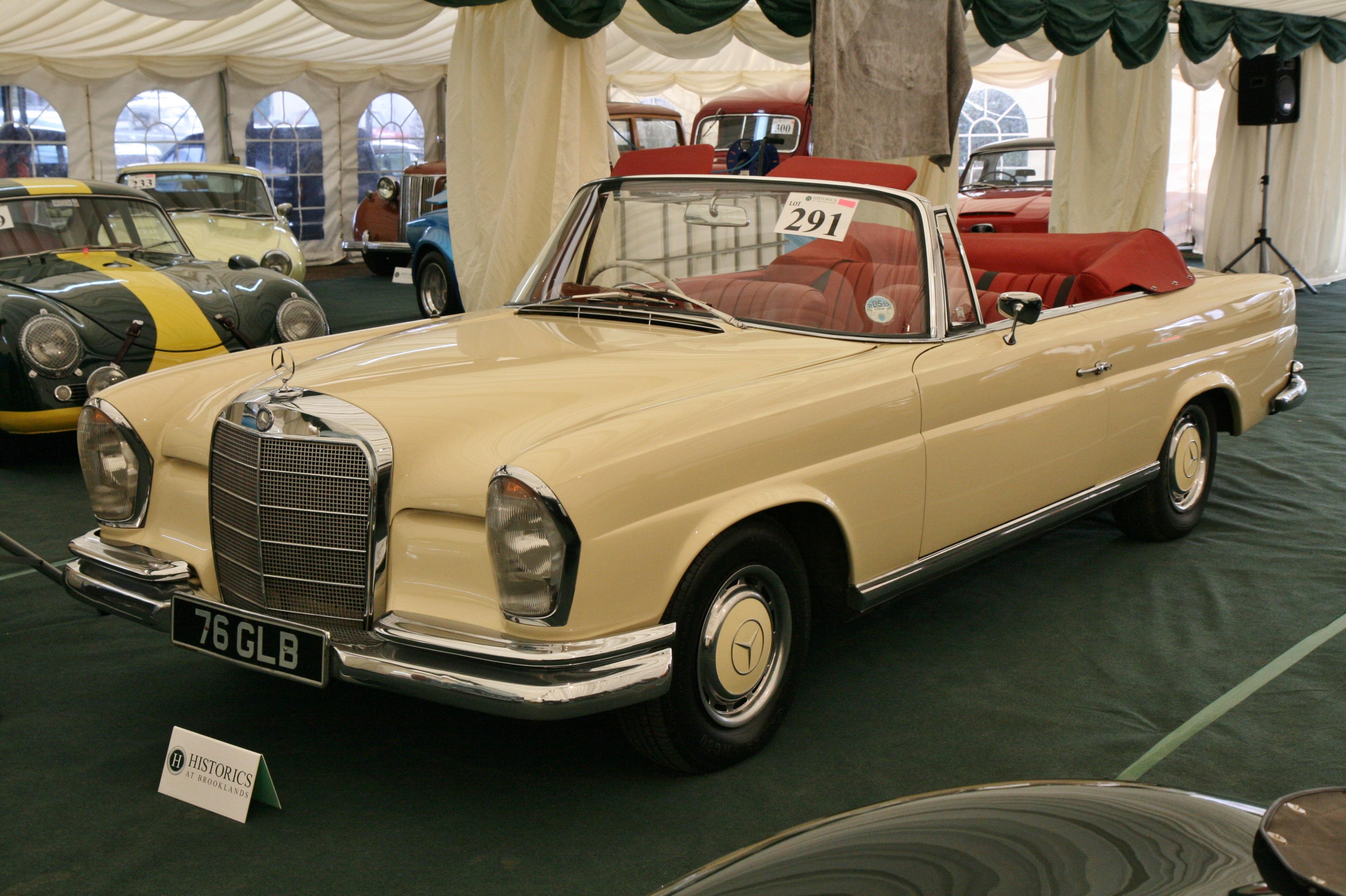 1963 mercedes benz 220 seb