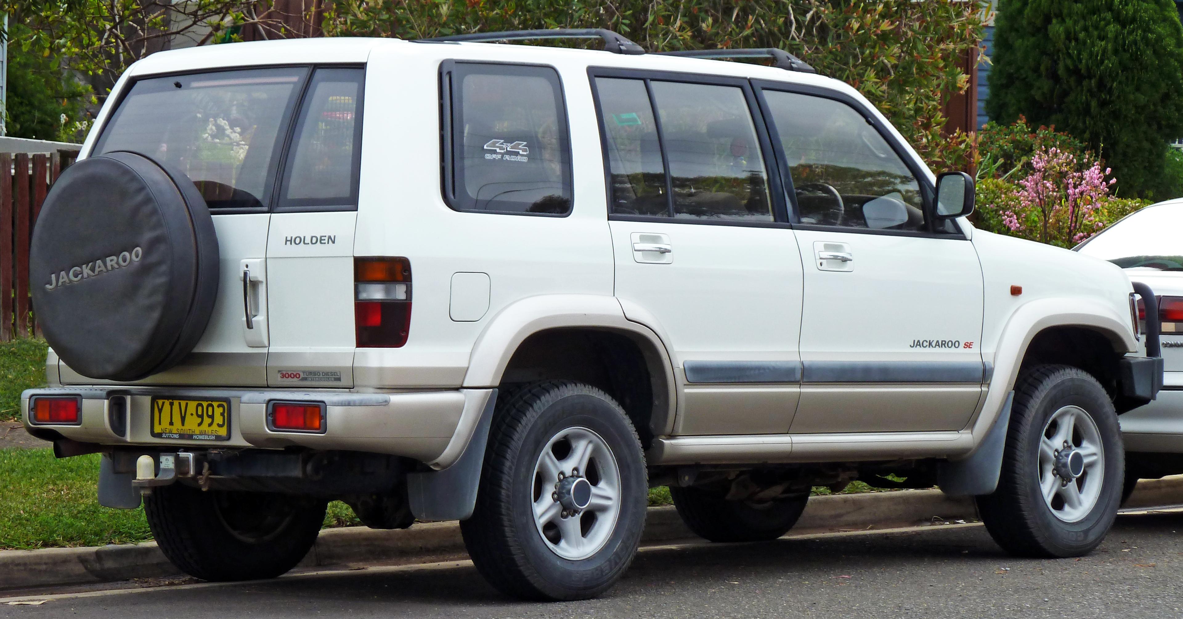 2001–2003 Holden Jackaroo