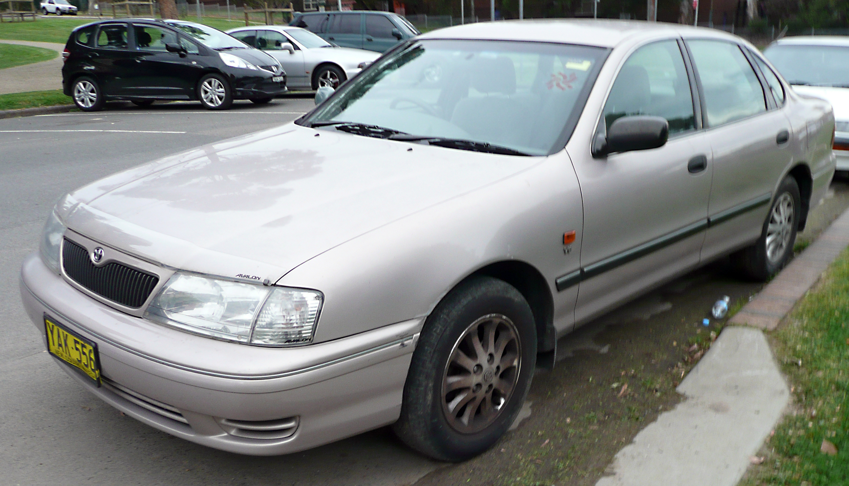 File 2002 Toyota Avalon Mcx10r Mark Ii Sorrento Sedan