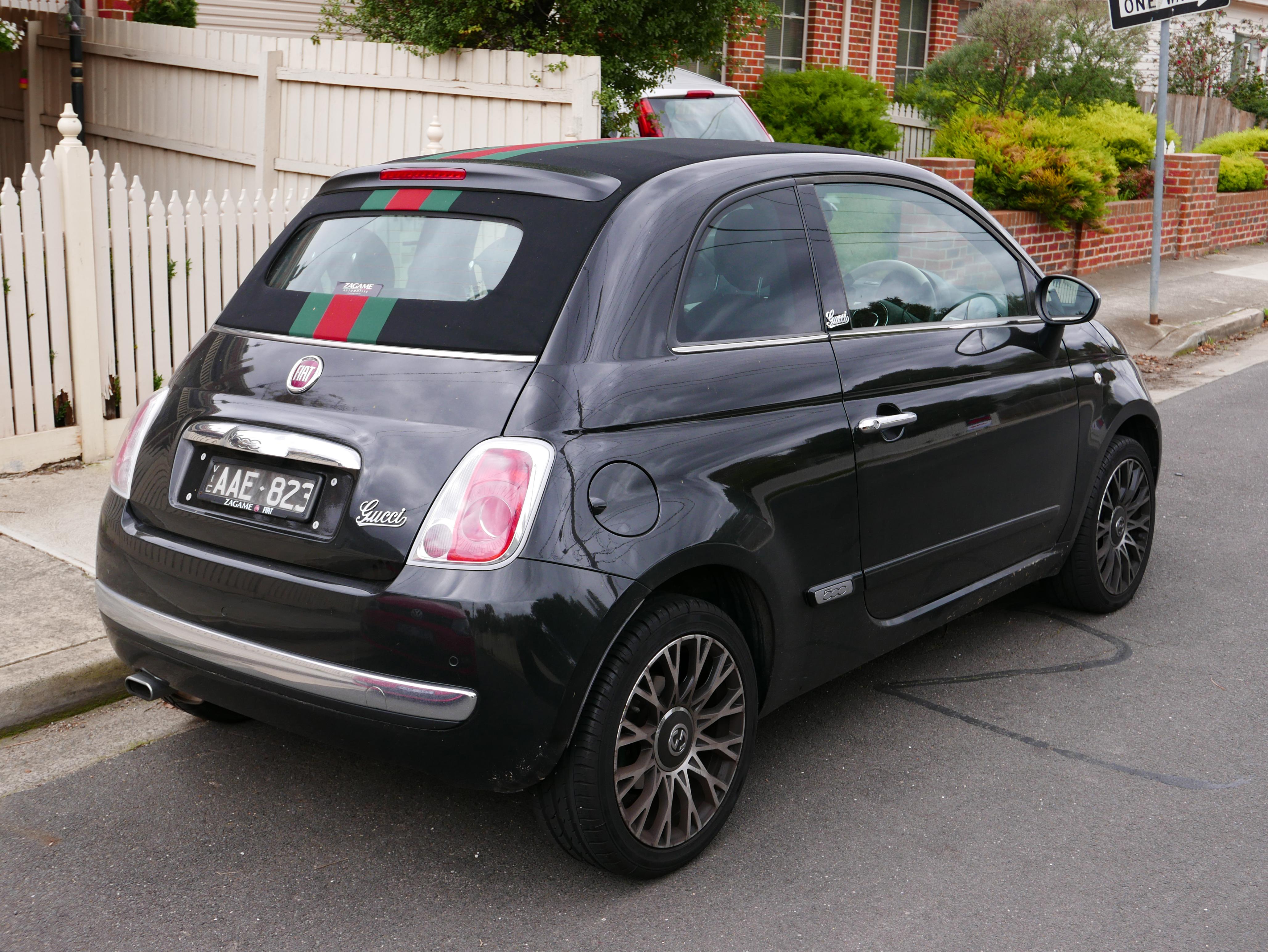 gucci fiat 500 new car release information. Black Bedroom Furniture Sets. Home Design Ideas