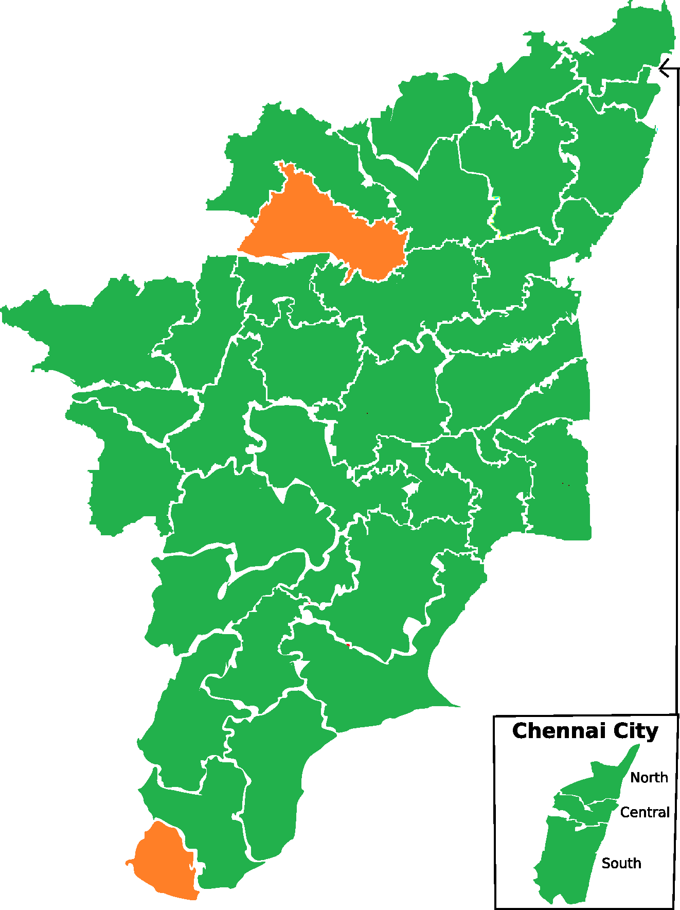 2014 Indian general election in Tamil Nadu - Wikipedia